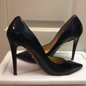Navy Heels 9.5 DVF Diane Von Furstenberg